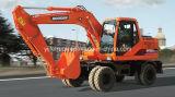 Famosa marca Doosan excavadoras de ruedas Dh150W-7