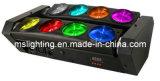 LEIDENE 8*10W White/RGBW van de Spin van DJ van de disco het Zwarte Lichte 4in1 Veelkleurige Licht van de Straal