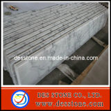 Prefabricados, losa de mármol blanco de China Guanxi baldosas blancas