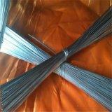 Filo di acciaio diritto del ferro del taglio (il collegare del ferro, annerisce il collegare temprato o il collegare del PVC)