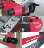 Fabrik-niedrigster Preis-heiße Schmelzanhaftende lamellierende Maschine für Plakat Kurbelgehäuse-Belüftung