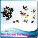 Extensão de cabelo Ferramentas & Anel Micro com silicone (HT200JC10)