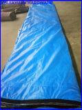 Bleu/noir/couverture corrigeante concrète orange