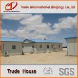 Helle Stahlkonstruktion-bewegliches/modulares Gebäude/fabrizierte vor,/Fertiglager-Familien-Haus