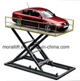 Une lourde charge stationnaire hydraulique voiture Parking Ciseaux de levage avec CE