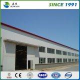 Instalación prefabricada grande de la estructura de acero del metal