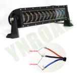 barra chiara del Wrangler del CREE LED di 96W 16.7inch con il fascio di Hi/Low