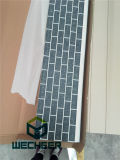 Панель плакирования стены изоляции Decoration&Heat металла PU выбитая пеной