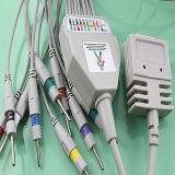 Burdick EKG Kabel mit Leitungsdrähten (AMD H0010CA)