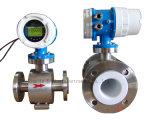 Turbina di flusso vapore/dell'acqua. Vortice, contatore elettromagnetico e ultrasonico