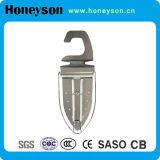 Supporto rivestente di ferro del supporto della parete/amo rivestente di ferro per ferro d'attaccatura