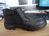 Zapatos de seguridad de acero de la punta de los hombres escotados