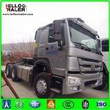371HP 6X4 무거운 트레일러 헤드 트럭