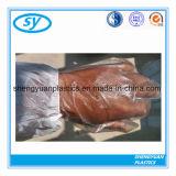 PE van de Verkoop van de Fabriek van de Rang van het voedsel Beschikbare Plastic Handschoenen