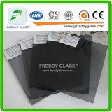 glace grise foncée en verre en verre de guichet de 6mm/construction/flotteur