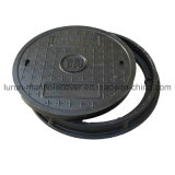 En124 B125 종류 D600 섬유유리 맨홀 뚜껑