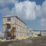Casa de construcción portátil con certificación Ce
