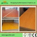 Muebles grado MDF recubiertos de melamina / UV MDF (de alto brillo, grano de madera, Smooth)