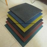 Плитка резины квадрата плитки напольной резиновый плитки цветастая резиновый