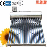 Sistema de aquecimento solar não pressurizado de calefator de água quente do aço inoxidável (coletor solar)