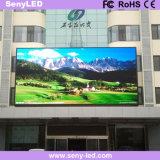 Afficheur LED visuel économiseur d'énergie polychrome extérieur de panneau des annonces P6