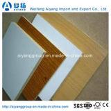 MDF en mélamine à haute teneur en brillant / UV pour meubles / décoration