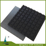 500X500X20mm Gummi-Fußboden-Fliese, Spielplatz-Gummifußboden-Fliese