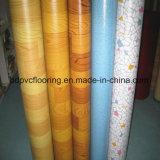 좋은 품질 파란 역행 PVC 바닥 깔개 Rolls