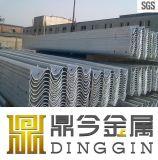 Galvanisierte Stahldatenbahn-Schutz-Schiene
