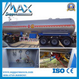 de 3-Axle 55cbm LPG de gaz de transport de réservoir remorque de camion semi