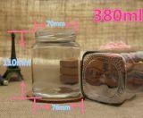 100-380ml de Fles van het Glas van de Rang van het voedsel voor Jam en Groenten in het zuur