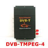 Sintonizador Dual coche receptor de televisión digital móvil DVB-T MPEG-4 (M-618)