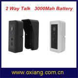 Téléphone visuel de porte HD de sonnette du WiFi de WiFi sec d'appareil-photo avec la coupure d'IR