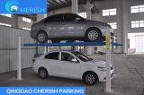 Гидровлический подъем стоянкы автомобилей автомобиля столба подъема 4 автомобиля гаража