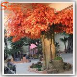 Guangzhou fibra de vidrio al por mayor de falsa artificial del árbol de arce