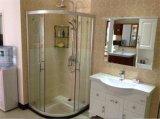 Perfil de alumínio que desliza o quarto de chuveiro simples da cabine do chuveiro da porta do chuveiro