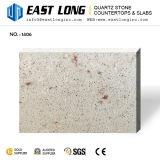 Bancadas da pedra de quartzo das partículas finas para Tabletops do gabinete