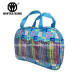 Blauwe Kosmetische Zak, de Kleurrijke Zak van de Douche, Dame Handbag