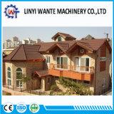 Tipo romano rivestito delle mattonelle di tetto del metallo della pietra economizzatrice d'energia competitiva