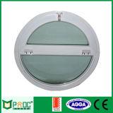 MID Abertura de janelas redondas de alumínio com vidro temperado Pnoc0015urw