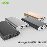 15000mAh, Samsung 더하기, iPhone 6/7/7를 위한 휴대용 힘 은행 휴대용 충전기, 4개의 USB 포트 외부 전지 효력 은행 Huawei 및 더 많은 것