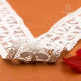 Laço elástico da tela do bordado do vestuário da forma