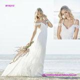 Платье венчания Neckline lhbim с планкой спагеттиа шнурка