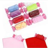 Zhejiang essuie-main en gros bon marché de cadeau de sucrerie de Microfiber/coton