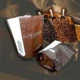 卸し売りカスタムプリント弁が付いているResealable永続的な紙袋のコーヒーバッグ