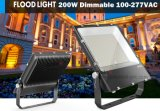 luz de inundação 150W do diodo emissor de luz de RoHS do Ce do fabricante de 110lm/W China com Au nós plugue da UE Reino Unido