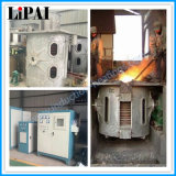 Horno fusorio de la calefacción de inducción de Kgps para el aluminio de acero del hierro