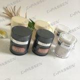 Skincareの包装のための暗い灰色のアクリルの空気のないクリーム色の瓶(PPC-ARCJ-014)