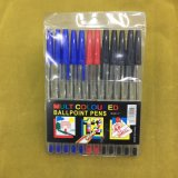 15PCS / PVC Bag Stick Ball Point Pen