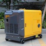 Preço Diesel silencioso portátil do gerador 5kVA da potência do fio de cobre do bisonte (China) BS6500dsea 5kw 5kv para a melhor venda